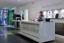 Claudia Strater in de PC Hooftstraat  130  / Het Nederlandse merk dat met liefde en vakmanschap ontworpen en geproduceerd wordt.