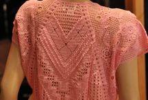 вязание крючком блузы