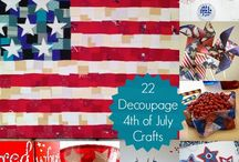 Holidays ~ 4th of July / Fourth of July ideas