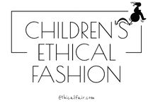 Children's Ethical Fashion / Featuring the best ethical, organic, sustainable and eco-friendly fashion for children. Emphasis on brands supporting fair trade and worker welfare. Discover more children's ethical fashion at ethicalfair.com