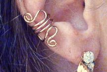Pierced earring fashion