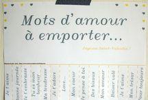 Sweet Wor[L]ds/Les MOTS Doux