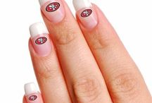Niner Nails / Show your 49ers style with the best nail designs in the game.