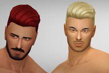 The sims 4 Hair Male