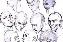 Face/Head Drawn