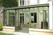 extension cuisine + veranda