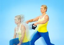 Kettle Bell workout  / by Katrina Tanner