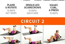 Dumbbell work out