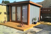 Garden Studio / Shed Office ideas / by Alison Bick Design
