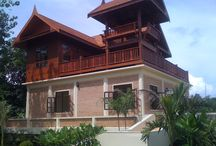 Thai Villa Magnolia / Thai-style Villa Magnolia with 3 bedrooms (with a/c) and 2 spacious terraces, two bathrooms, kitchen and living area. Living space = 240 sqm.