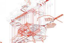 arkitektoniske aksonometrier