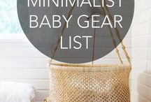 Baby on a budget / It's possible to have a baby on a budget!  Tips for baby gear you do and don't need, saving money before baby arrives and all these budgeting for baby.