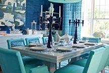 Ruokailutila - Dining room / Ruokailutilan sisustus ja ideoita -   The dining room decoration idea