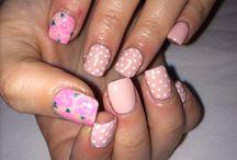 My nails / Pink