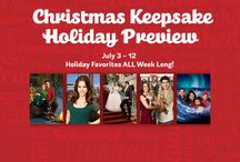 """Christmas Keepsake Week on Hallmark Channel / Discover the magic of Christmas ... in July! It's an annual tradition that we look forward to almost as much as our #1 Countdown to Christmas movies (which start Oct 31st!.) Enjoy Christmas favorites & an ALL NEW premiere , """"Family for Christmas"""" starring Lacey Chabert July 11 9/8C / by Hallmark Channel"""