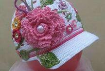 hats crochet summer