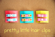 Hair clips / by Kelli Thwaites