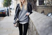 Leather Jackets / Leather Jacket Outfit Inspiration