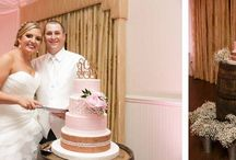 Rustic Wedding Cakes by Party Flavors Custom Cakes