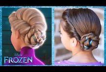 Elsa hair style