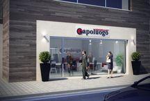 Layout Uffici Capoluogo ® / Layout Uffici