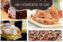 Slow cooker recipies