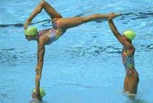 Synchro Swimming ✨❤️ / Photos of Synchro ⭐️  Enjoyy