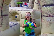 Summer Cool Fun / Check out all these water-based inflatables