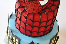 Bolos Temáticos - Super-heróis