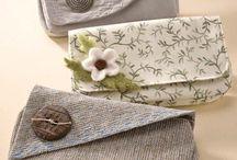 Sewing - vintage clutch bags
