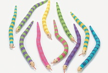 Creepy Crawly snake birthday party