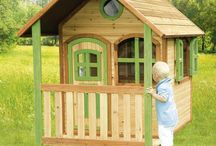 Children Wooden Playhouse Play House Kids Home Outdoor Garden Furniture Game Toy
