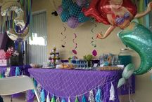 party: the little mermaid
