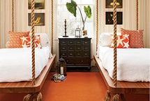 Bedrooms with a theme / by Cheryl Draa Interior Designs