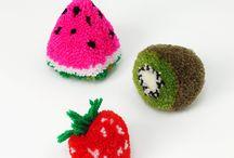 pompones Fruta
