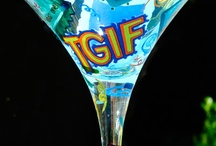 """TGIF"" Happy Hour / Smirnoff's Party Posse - Jenny, Lolita and Phoebe - have thought of everything to kick off the Friday night party right. / by Smirnoff US"