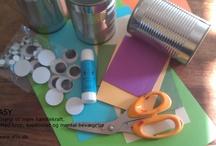 Hjemmelavede gaver / Kort, billeder, pynteting som er hjemmelavede