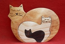 kočičí a jiné dřevěné puzzle