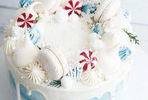 новогодние торты кремовые