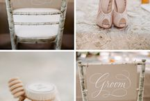 Wedding Chairs / Stylish ideas and inspiration for wedding chairs ~ decorations, signs & pretty personalized touches.