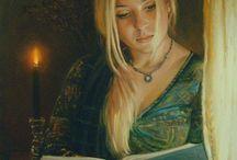 Fotos medievais, inspirações de Roupa, cabelos, decorações ... Tudo Medieval!!.