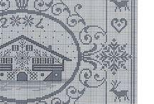 bordados monocromaticos