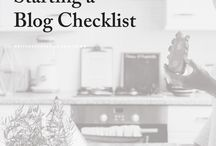 Checklists, planners,