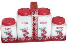 Milk Glass - Cherries