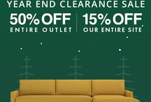 Year-End Clearance Sale (NOW - Tues) / Our Year-End Clearance Sale is going on NOW through Tuesday, 12/19. Take 15% off site-wide and 50% off our outlet!