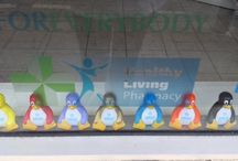 Fairmans Pharmacy / The Labcold penguins went to help the team at Fairmans Pharmacy Wallsend