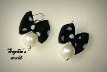 Earrings Sophie's world Handmade