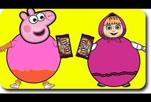Peppa Pig Animation Videos / Peppa Pig Family New Episodes Parody - Masha Playing Gumball Machine  5:03 Masha and The Bear With Dora The Explorer Eat Ice Cream at the Beach/Funny Story #Chapter 6 HD Funny Story #2  5:26 #Elsa and Spiderman Magic GumBall Machine #Funny Story #Nursery Rhymes  8:18 Masha And The Bear Eating Hot Chili#lollipop#Crying# Rainbow Rhymes  9:16 #Elsa having fun time with #Spiderman  #Kids #KidsVideos #Animation #Baby #Peppa #PeppaPig #Masha #mashaandthebear #spiderman #spidey