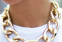 chained neck