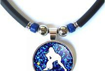 Softball Jewelry / Softball team or individual gifts.